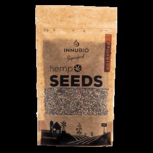 Unshelled hemp seeds 200g